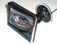 Digital 800*480 5inch LCD Car Monitor With Dash Mount & Windshield Suction Mount Bracket
