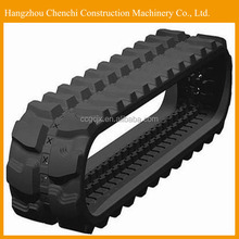 SK024 excavator undercarriage parts rubber small rubber track in stock