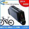 electric bike batteries lithium 48V