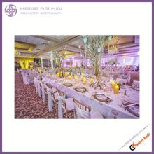 cheap crystal organza chair sashes 2014 Fashional white chair sash europe decoration ruffle organza chair sash