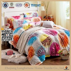 2015 new fashion home design printed TV blanket/flannel blankets stock lots