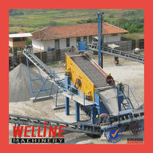 WELLINE High efficiency stone crusher conveyor rubber belt