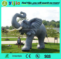 Large waterproof inflatable animals for zoon park