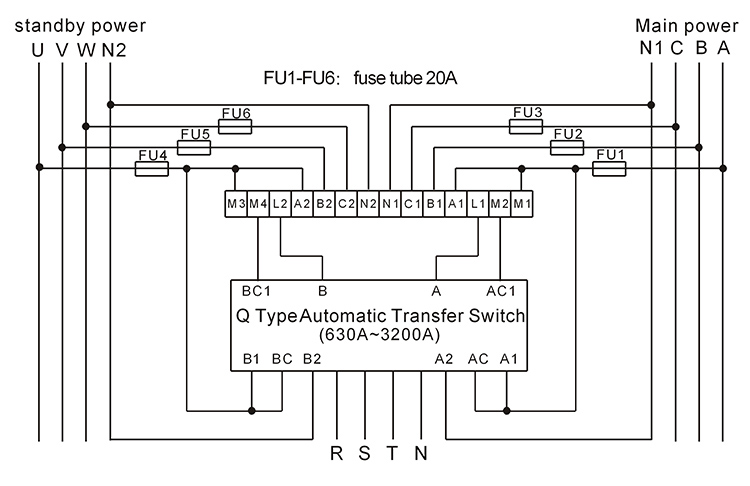 Schematics moreover Coil Tap Wiring Diagram Push Pull further Ubbthreads furthermore Invertor Mains Change Over Circuit in addition 123 Automatic Transfer Switch Controller ATS 60047072601. on 3 phase switch wiring diagram