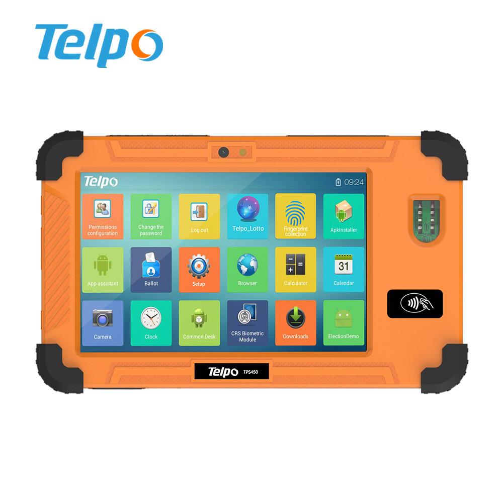 Telwpower TPS450 в реальном времени Биометрические глаз сканера android-планшет 6.0 для управления персоналом