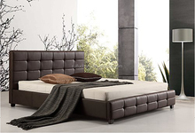 Cheap pu/Faux leather wall modern design sofa cum bed
