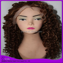 Water Wave! African American Synthetic Braided Lace Wig, Synthetic Wig, Costume Wig