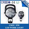 Guangzhou factory 35w led lamp automotive 9-32v trouble inspection portable light led automobile work light