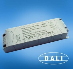 AC input one channel 40W DALI Dimmable LED driver output18vac-46avc
