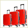 lightweight pc abs luggage set ,telescopic handle luggage