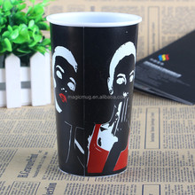 New products 2016 color changed plastic 3D lenticular cup