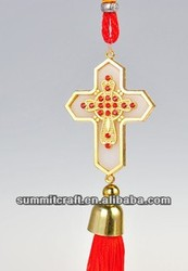 Holy Cross Diamond Antu religious car hanging for sale
