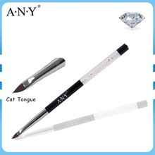 ANY Professional Nail Art Beauty UV Gel Painting Crystal Nail Brush for Nail Art