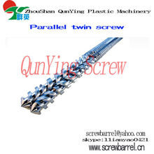 CINCINATI extruder paralle twin screw barrel for pipe cable plate profile...