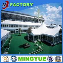 2015 fashion design glass walls splendid exhibition trade show canopy tent for sale from foshan