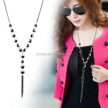 2015 new arrival Long necklace pendent Korean fashion all-match sweater chain 060