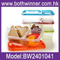 glass bento box , H0T214 , food container salad container lunch box
