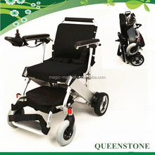 2015 new arrival ultra light 5 seconds folding power wheelchair 180WX2 Brushless motor