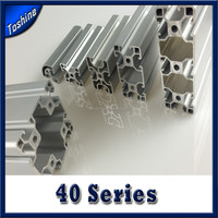 Extruded Aluminum T- Slot Profile for machine guard and enclosure system