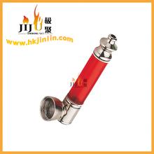 JL-143 Yiwu Jiju Tobacco Companies Zinc and Plastic Metal Smoking Pipes Parts