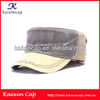oem mix colors adult unisex flat top military cap army hat with special embroidery on brim/custom blank baseball caps and hats