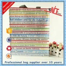 100% virgin non woven customized eco-friendly envitonmental opp laminated shopping bags for promotion
