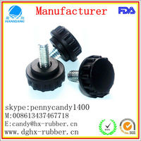 China ,custom made,factory,Plastic Adjustable Screw Glide Feet,for machine,funiture ,in dongguan