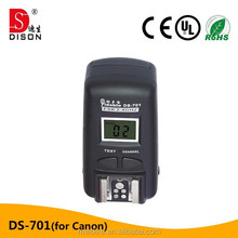 Yidoblo 1/8000s DS-701 for camera HSS Trigger DS-702 for video high speed sync flash trigger