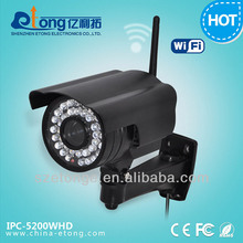 For home/ industry / school Alarm action Waterproof wireless Wifi IP camera