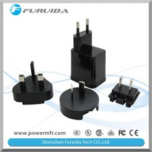 3 in 1 multi plug EU/US/UK portable phone/tablet adapter charger