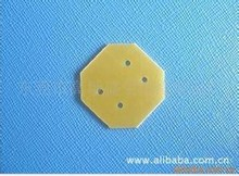 cnc precision cutting yellow insulation part for electrical distribution cabinet