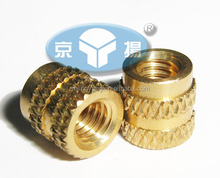 Molded-In brass Threaded Inserts