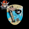 plastic toy pirate telescope with accessories