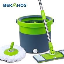 2014 Bekahos Most Popular Catch Mop The Best Microfiber Mop With Flat Mop Heads
