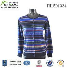 BLUE PHOENIX 100% cashmere women knitwear cardigan