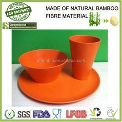 Original design and fresh dinner set , bamboo fibre dinner set