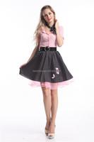 Walson Vintage 1950'S Rockabilly Polka Dot Pin Up Formal Swing Prom Dress