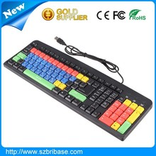 colored computer shenzhen usb programmable keyboard