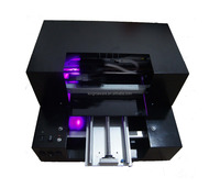 A3 Size small UV Flatbed Printer for ID card, Phone Case,Pen, CD, Leather,Metal,Wood ect