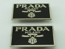 brass metal label tag for wallet/purse