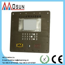 push button membrane switch metal keyboard