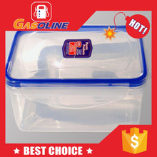 Super quality elegant pp food box with double layer plastic