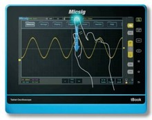 200MHz Tablet Oscilloscope with Full Touch Screen(TO202A)oscilloscope digital