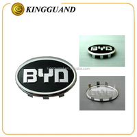 Seven-color aluminum material replacement car emblems