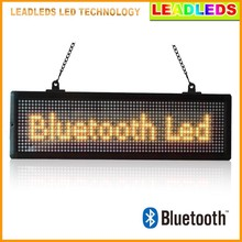 WIRLELESS CONTROL SMART PHONE PROGRAM INDOOR BLUETOOTH CONNECTION LED MOBILE ADVERTISING BOARD
