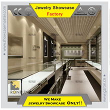 Modern jewelry display cases wholesale for jewelry shop interior design
