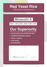 Red Kojic Rice with 3% monacolin-K