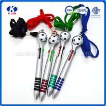 transparent plastic ball pen for promotion