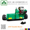 Off-road new vehicle ATV Flail Mower with 13hp engine honda