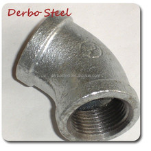 Banded GI Cast Iron Elbow Pipe Fitting Malleable Iron Pipe Fittings